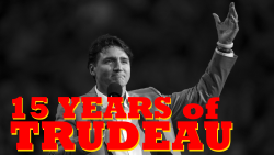15 years of trudeau