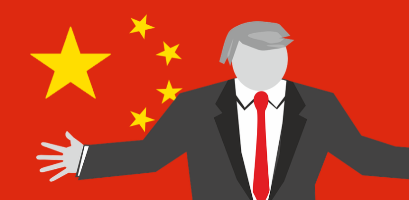 trump played by china
